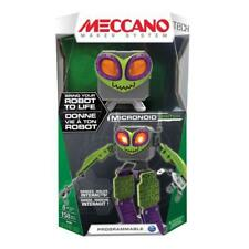 NEW Meccano Micronoid Green SWITCH Programmable Robot