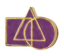 Geometric Shapes Cryptic Freemasonry Masonic Pin Badge