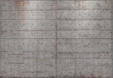 Fototapete 8-938 Concrete Blocks 368 x 254 cm - keine Lieferkosten - exklusiv