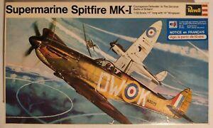 SUPERMARINE SPITFIRE MK-I REVELL 1/32 Ref H-282
