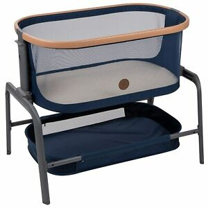 Maxi-Cosi Iora 2-in-1 Bedside Baby Bassinet Essential Blue NEW