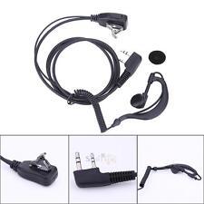 2 Pin Earpiece Headset PTT MIC for BAOFENG UV5R for Kenwood Puxing Wouxun HYT