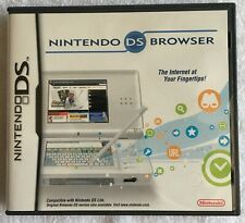Nintendo DS Browser (Nintendo DS, 2007) CLEANED AND TESTED