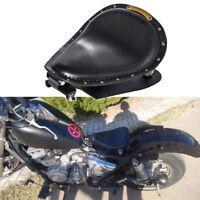 Black Motorcycle Bobber Solo Seat Spring Bracket Kit For Kawasaki Vulcan 750 900