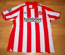 NEW Umbro Sunderland 2010/2011 'Gyan' home shirt (Size XL)