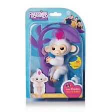 Fingerlings Interactive White Baby Monkey Sophie AUTHENTIC WowWee New