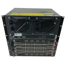 Cisco 4500 Series WS-C4506 Catalyst 6-slot Chassis 4506 Switch w/ 6 Modules
