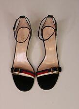 Gucci New Shoes Black  Sylvie Sandals  Size 40 UK 7