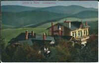 Ansichtskarte - Goslar am Harz - Steinberg-Hotel - gelaufen 1923 - Landschaft