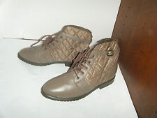 DANEXX Vintage Granny Grunge Boots Size 7.5 M Women's Made in China