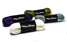 Brillo metálico Brillante Cordones Para Calzado Cordones de maxstrapz