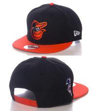 55768404266bd Baltimore Orioles AL Patch New Era 9FIFTY MLB Retro Vintage Snapback Hat M L