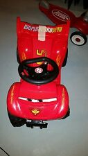 Pacific Cycle 6-Volt Battery-Powered QUAD MCQUEEN RACE CAR RIDE TOY NR