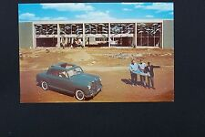 Mercedes Owners postcard brochure 180 d original w120  ponton