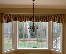 Two Custom Window Treatments for Bay 248� Wide Other Window is 96� Wide Lined