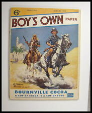 """Serious Collectors 1938 """"Boy'S Own"""" Full Magazine Harmonica Article Featured,"""
