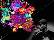 Kid Cudi Rap hot Singer Star Popular New Wall Poster 32x24 Inch