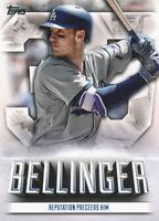 Cody Bellinger 2021 Topps Series 1 Highlights #TE-1 Insert Dodgers