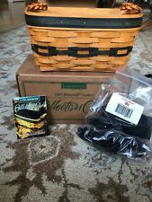 Longaberger 1997 Collector's Club renewal basket brand new in box- one signature