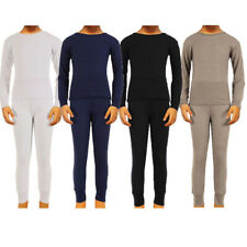 6 Piece Mix /& Match 3 Long Pants Boys Long John Ultra-Soft Cotton Stretch Base Layer Underwear Sets 3 Long Sleeve Tops