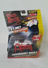 Hot Wheels Speed Racer Mach 5 Powerburst Rechargeable Car Grand Prix