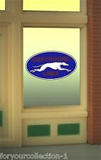 Miller's Greyhound Lines Animated Neon Window Sign O Scale #33-8950