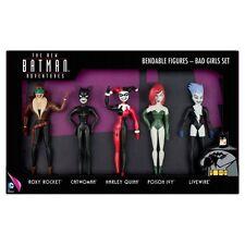 Batman: las Nuevas Aventuras De Batman chicas malas Flexible Figura De Acción Set en Caja