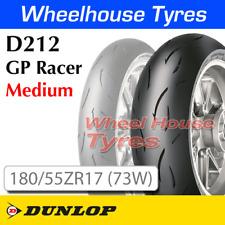 Dunlop D212 GP Racer Medium 180/55ZR17 (73W) TL Rear