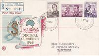 AFD60) Australia 1966 Australia and Territories Change to Decimal Currency 1966