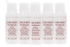 Shiseido The Skincare Instant Eye And Lip Makeup Remover Travel Size (Lot Of 5)