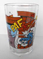 RARE SMURF Glass Smashing Ball Toc Toc Peyo Benedictin 1994 France MINT