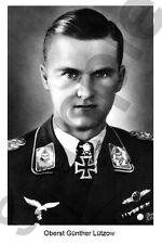aviation art pilot postcard colour WW2 Gunther Lutzow Luftwaffe JG 3 JV 44 photo