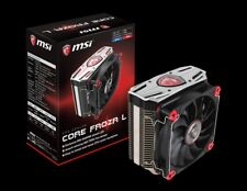 MSI Core FrozR L Single Tower CPU Cooler, 4 Heatpipes, 120mm TORX PWM Fan, Black