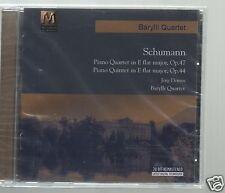 SCHUMANN CD NEW PIANO QUARTETS OP 47 & 44/ JORG DEMUS/ BARYLLI QUARTET