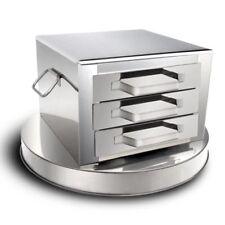 39cm 3-Layer Stainless Steel Steamer Kitchen Food Steaming Machine+Spare Pop!