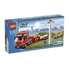 RARITÄT: LEGO City 7747 - Windturbinen-Transporter - zusammengebaut, unbespielt