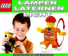 Lego Dinamo LED Operaio Torcia Da Tasca Lampada Luce Lanterna Pupazzo