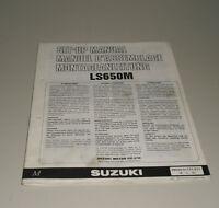 Instrucciones de Montaje Suzuki Ls 650M Stand 07/1990