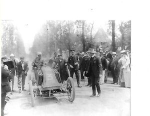PHOTOGRAPHS LOUIS RENAULT/ FRANCOIS SZISZ Car No 3 1903 RENAULT TYPE 0 6.3-Litre