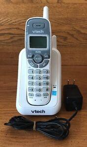 VTech 5.8GHz (CS5211) White Single-Line Cordless Energy Star Handset Phone