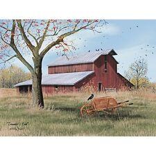 Billy Jacobs Summers End Barn  Art Print 16 x 12