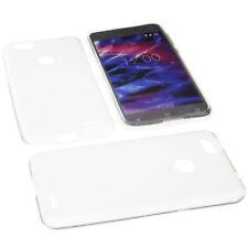 Tasche für MEDION Life E5008 Handytasche Schutz Hülle TPU Gummi Case Transparent