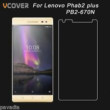 HD Tempered Glass Shatterproof Screen Guard Protector for Lenovo Phab 2 Plus
