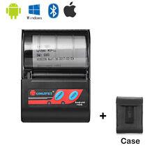Portable Mini Bluetooth Printer Wireless Thermal Receipt Android iOS ESC / POS