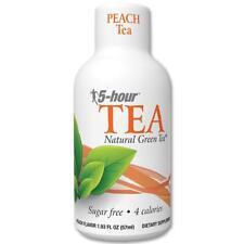 3x Bottles 5 Hour Energy White Peach Tea - ( 1.9 Oz ) Natural Green Sugar Free