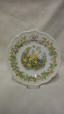 Jill Barklem Royal Doulton Brambly Hedge Collector Plate - Spring