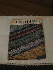 Vintage American Thread Company Star Doily Edgings Book 147 Crocheted Plus