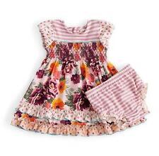 Matilda Jane TEA TIME Dress 18-24 Months + Diaper Cover Floral Corduroy NWT