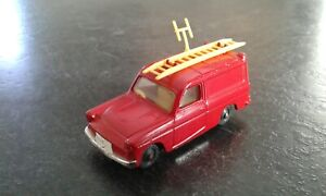 RARE VINTAGE HUSKY FORD THAMES VAN RED # VIRTUALLY MINT CONDITION