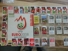 PANINI EURO 2008 WM 08 SWISS ED. * SET COMPLETO ALBUM VUOTO * loose Set Empty album